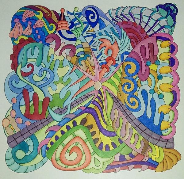 Colored By Deborah Powell
