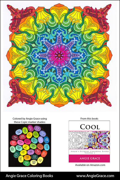 Angie\'s Color Palettes - Angie Grace Coloring Books