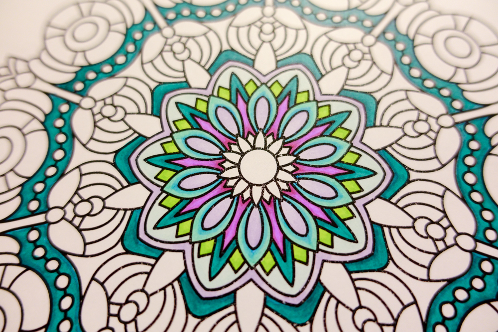 Colored by Angie Grace - From Breathe For Crayons And Wide Tipped Markers